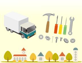 工具・電動工具買取の流れ。4.ご訪問・査定の当日。