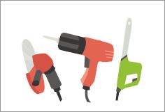 工具・電動工具高価買取のポイント4、複数点まとめて一度に査定に出すと買取額アップ!