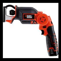 ブラック&デッカー充電式ハンディソー(電池2個) LXR10-2